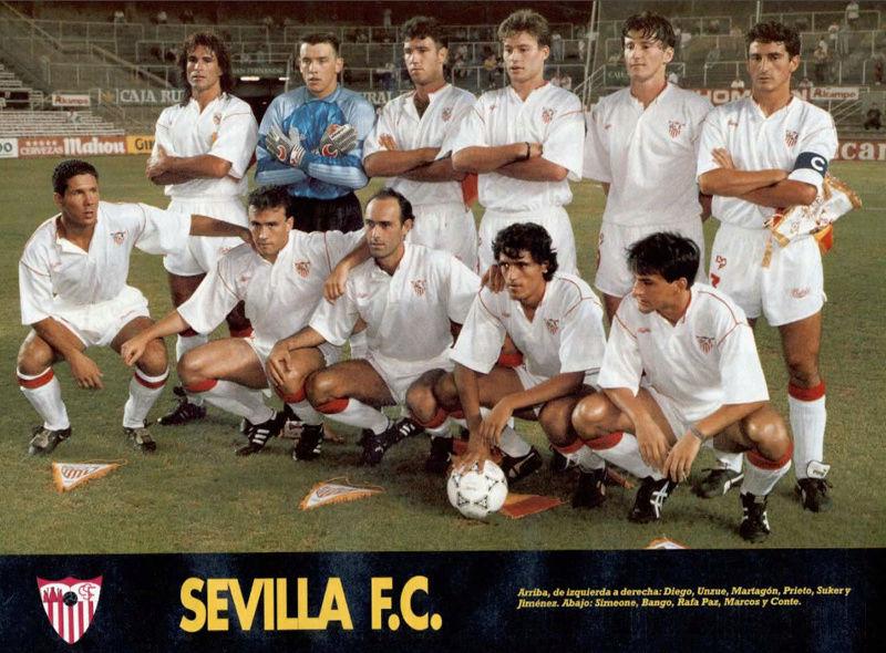 PLANTILLA 92-93 Sevilla Sevoyy10