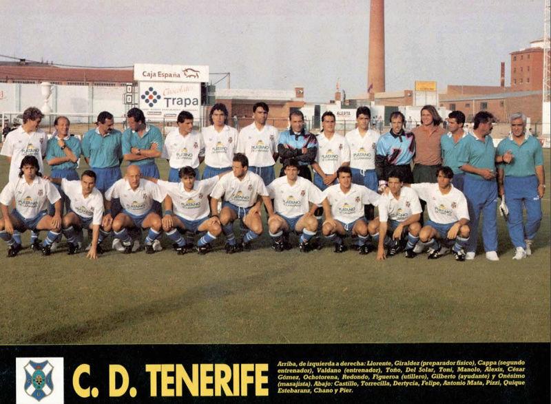 PLANTILLA 92-93 TENERIFE Sevoyy11