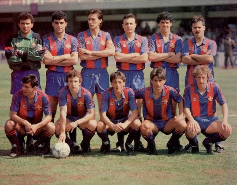 ALINEACIÓN FC BARCELONA AT 86-87 Sevoyy48