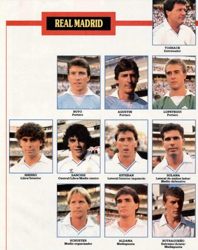 REAL MADRID 89-90 Sevoyy51