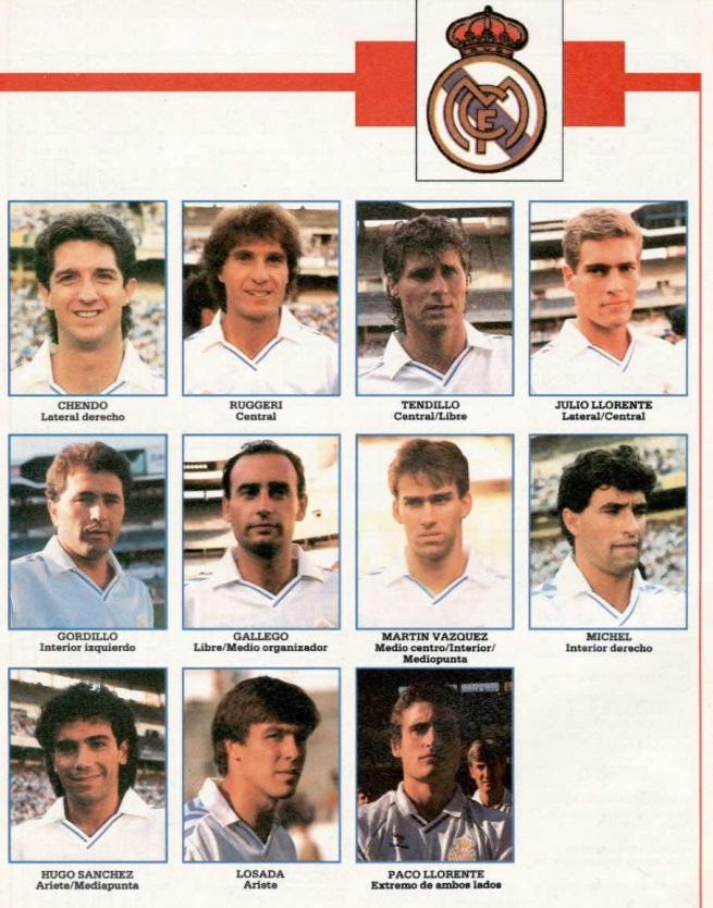 REAL MADRID 89-90 Sevoyy52