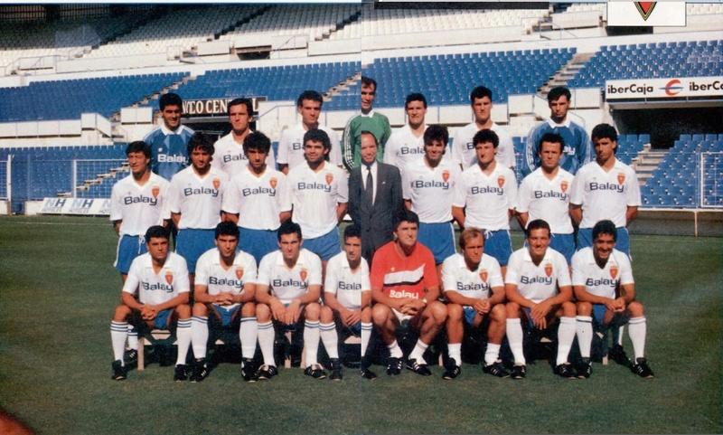 REAL ZARAGOZA 89-90 Sevoyy62