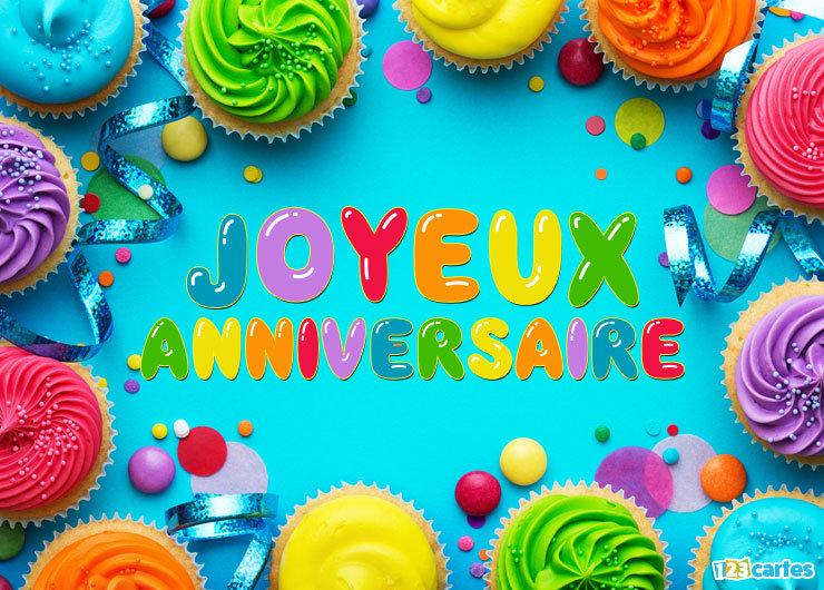 Joyeux anniversaire DSandrine Cupcak11