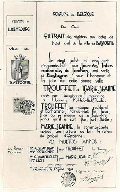 Bière : La Trouffette Acte-d13