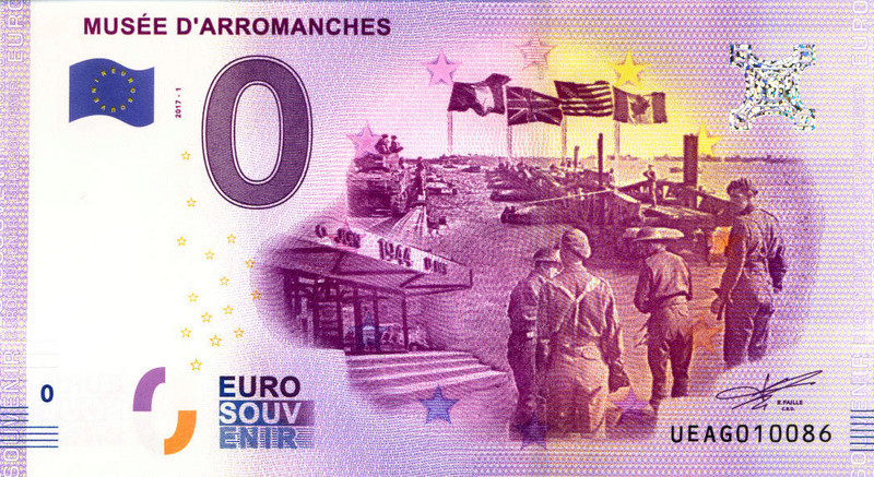 Billets 0 € Souvenirs [Normandie = 51] Arroma10