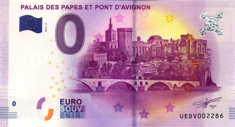 Billets 0 € Souvenirs  [SUD = 62] Avigno11