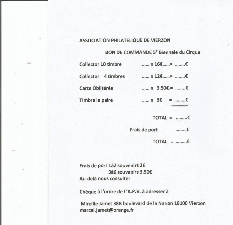 18 - Vierzon - Association Philatélique Bon20c10