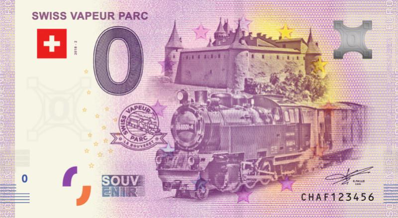 Billets souvenirs 2018 = 19 Chaf10