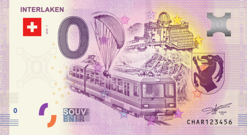 Billets souvenirs 2018 = 19 Char11