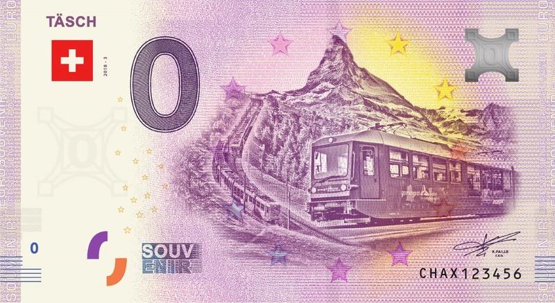 Billets souvenirs 2018 = 19 Chax310