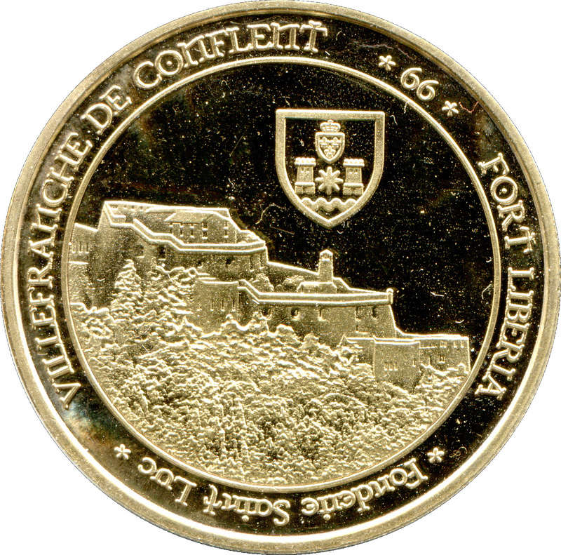 Villefranche-de-Conflent (66500)  [Liberia] Confle10