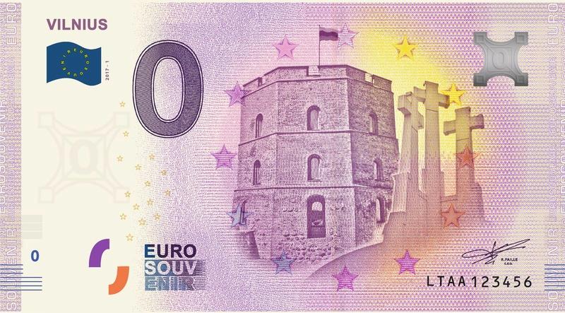 Billets 0 euro Ltaa10