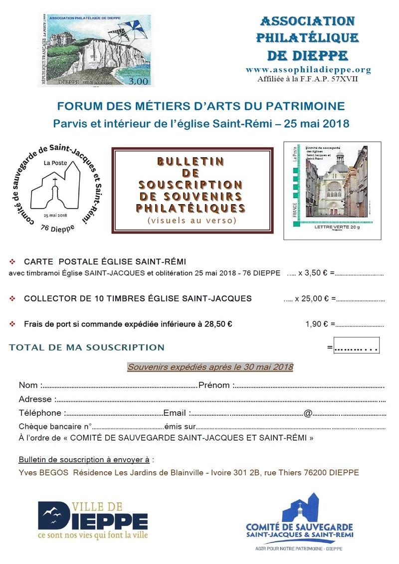 76 - Dieppe - Association Philatélique Saint10