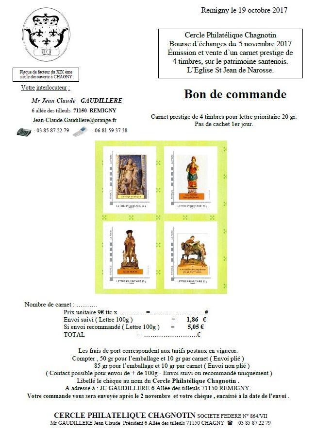 71 - Chagny - Cercle Philatélique Chagnotin Sans_t11