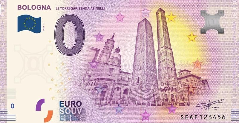 Billets Euro-Souvenirs 2018  Seaf10