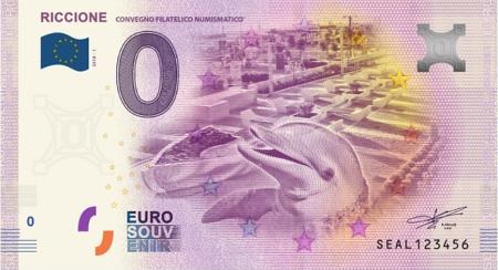 Billets Euro-Souvenirs 2018  Seal-210