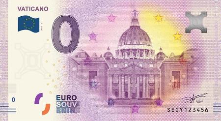 Billets 0 euro Segy-210