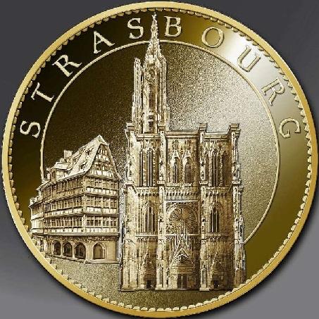 Arthus-Bertrand revers spécifique =  40 Strasb14