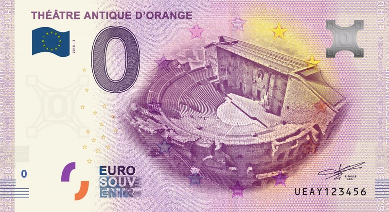Billets 0 € Souvenirs  [SUD = 62] Ueay210
