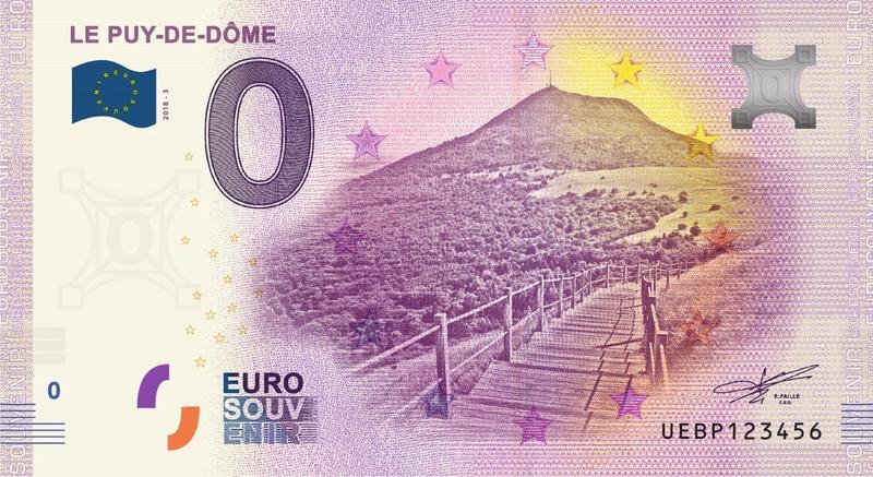 Billets 0 € Souvenirs  = 40  Uebp310