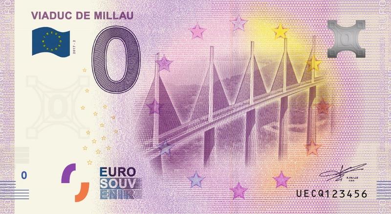 Billets 0 € Souvenirs = 80 Uecq210