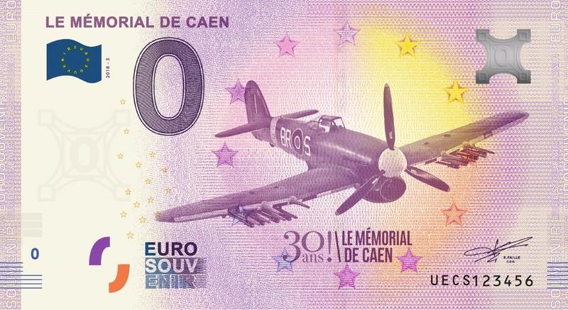 Billets 0 € Souvenirs = 65 Uecs310