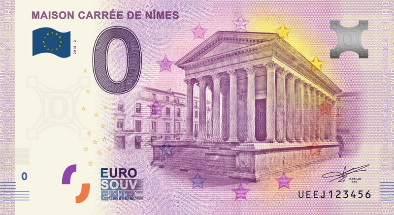 Billets 0 € Souvenirs = 80 Ueej210