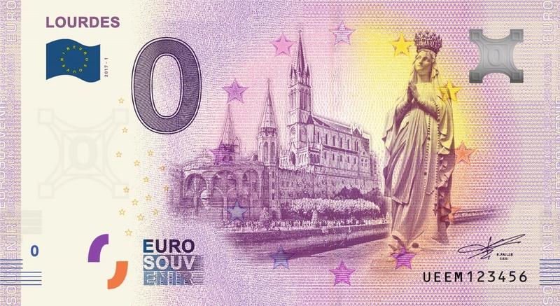 Billets 0 € Souvenirs = 75 Ueem110