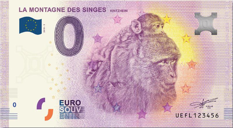 Billets 0 € Souvenirs  = 37 Uefl310