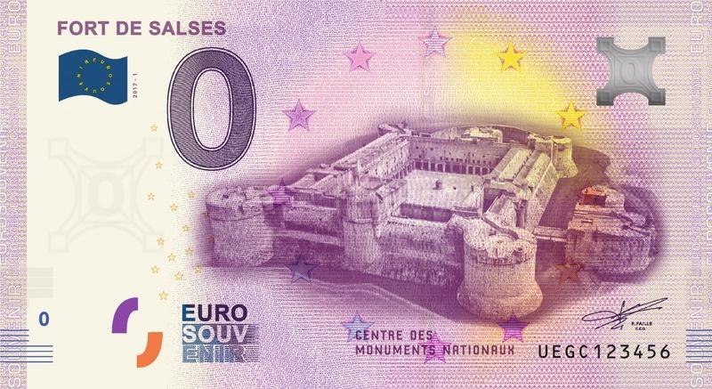 Billets 0 € Souvenirs = 80 Uegc110
