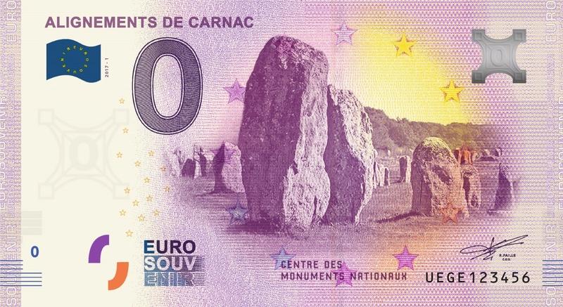 Billets 0 € Souvenirs  [Bretagne = 20] Uege10