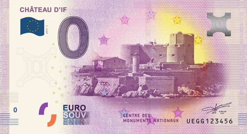 Billets 0 € Souvenirs  [SUD = 62] Uegg110