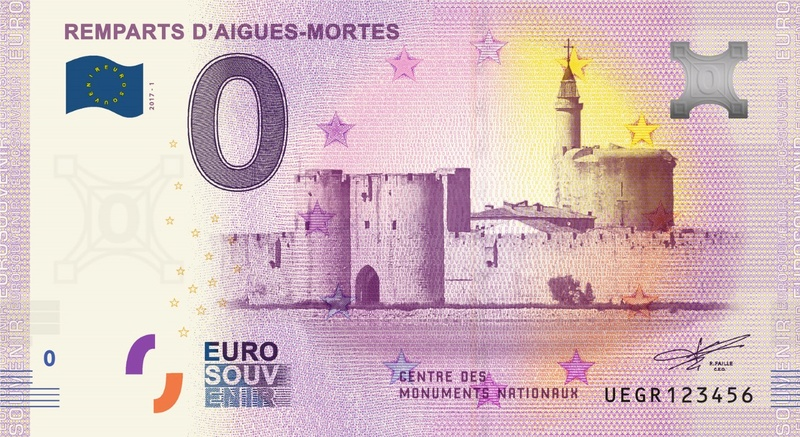 Billets 0 € Souvenirs = 80 Uegr110