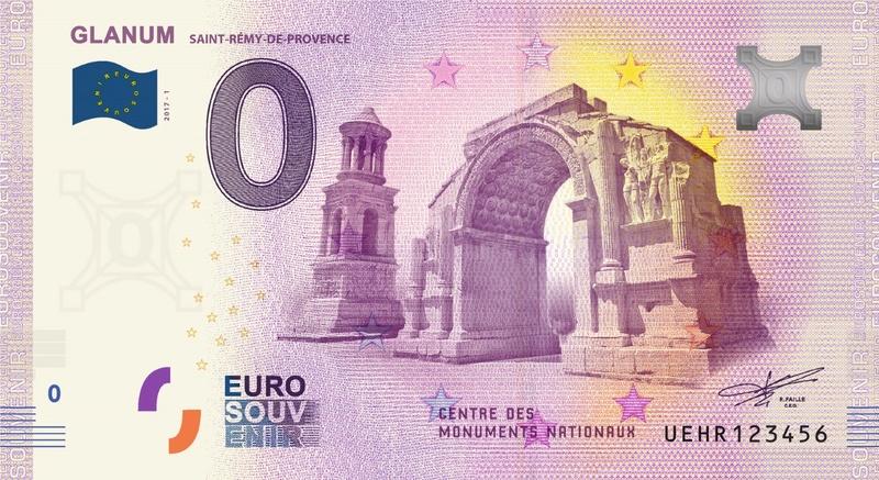 Billets 0 € Souvenirs  [SUD = 62] Uehr110
