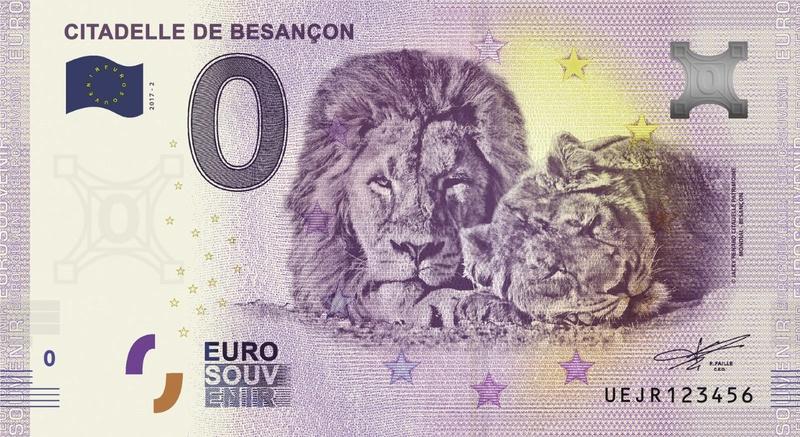 Billets 0 € Souvenirs  = 12 Uejr10