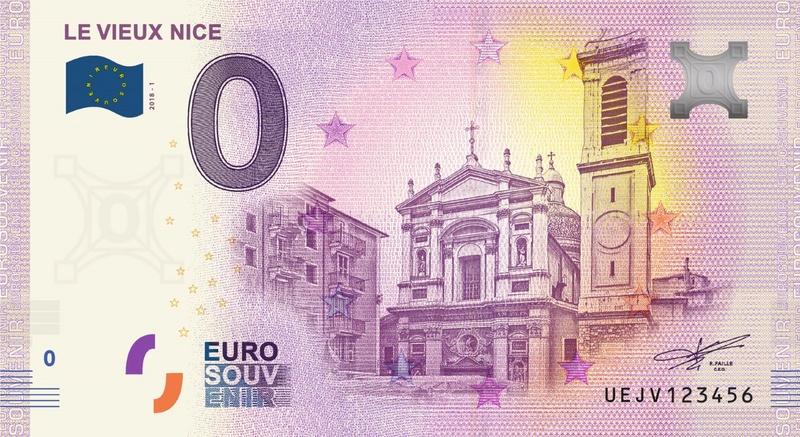 Billets 0 € Souvenirs  [SUD = 62] Uejv110