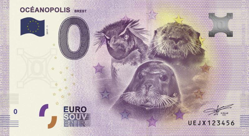Billets 0 € Souvenirs  [Bretagne = 20] Uejx10
