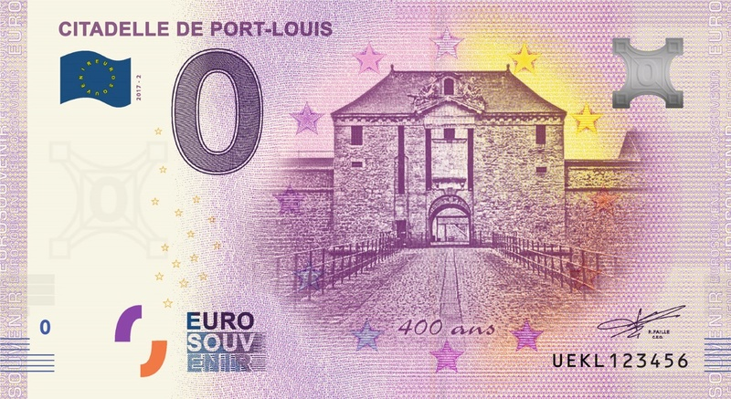 Billets 0 € Souvenirs  [Bretagne = 20] Uekl210