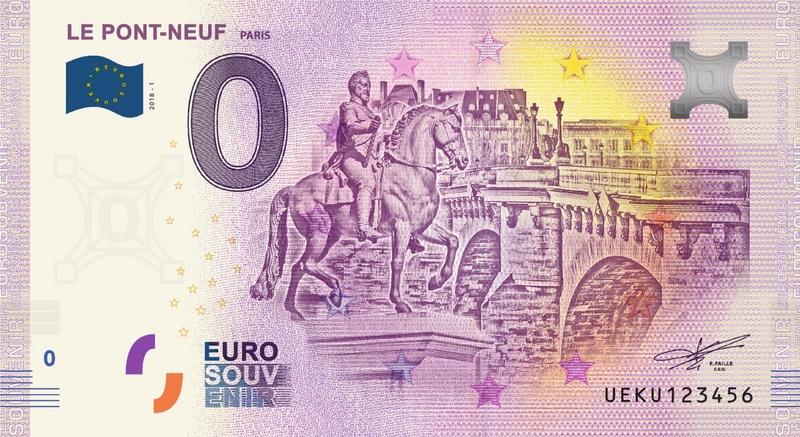 Billets 0 € Souvenirs  [Paris = 81] Ueku110
