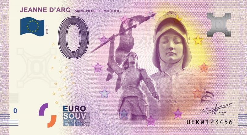 Billets 0 € Souvenirs  = 12 Uekw110