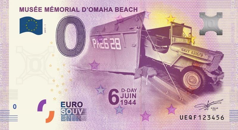 Billets 0 € Souvenirs = 65 Ueqf10