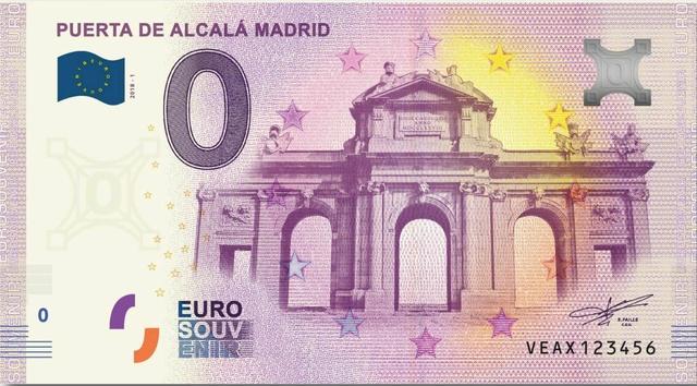Billets Touristiques 0€ 2018 (23) Veax110