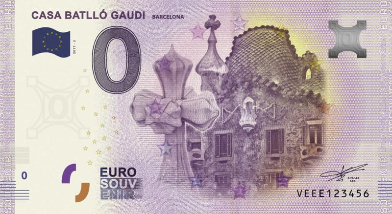 Billets Touristiques 0€ 2018 (23) Veee311