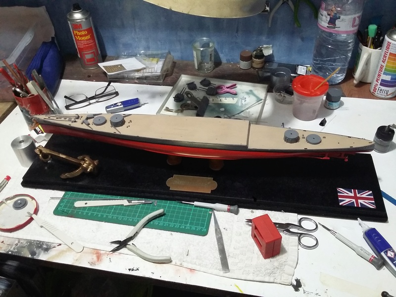 HMS Hood  Heller au 1/400 - Page 2 20180310