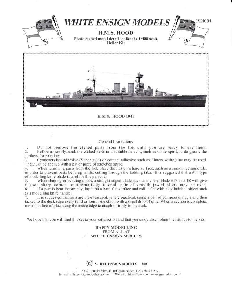 HMS Hood  Heller au 1/400 - Page 2 Img_2019
