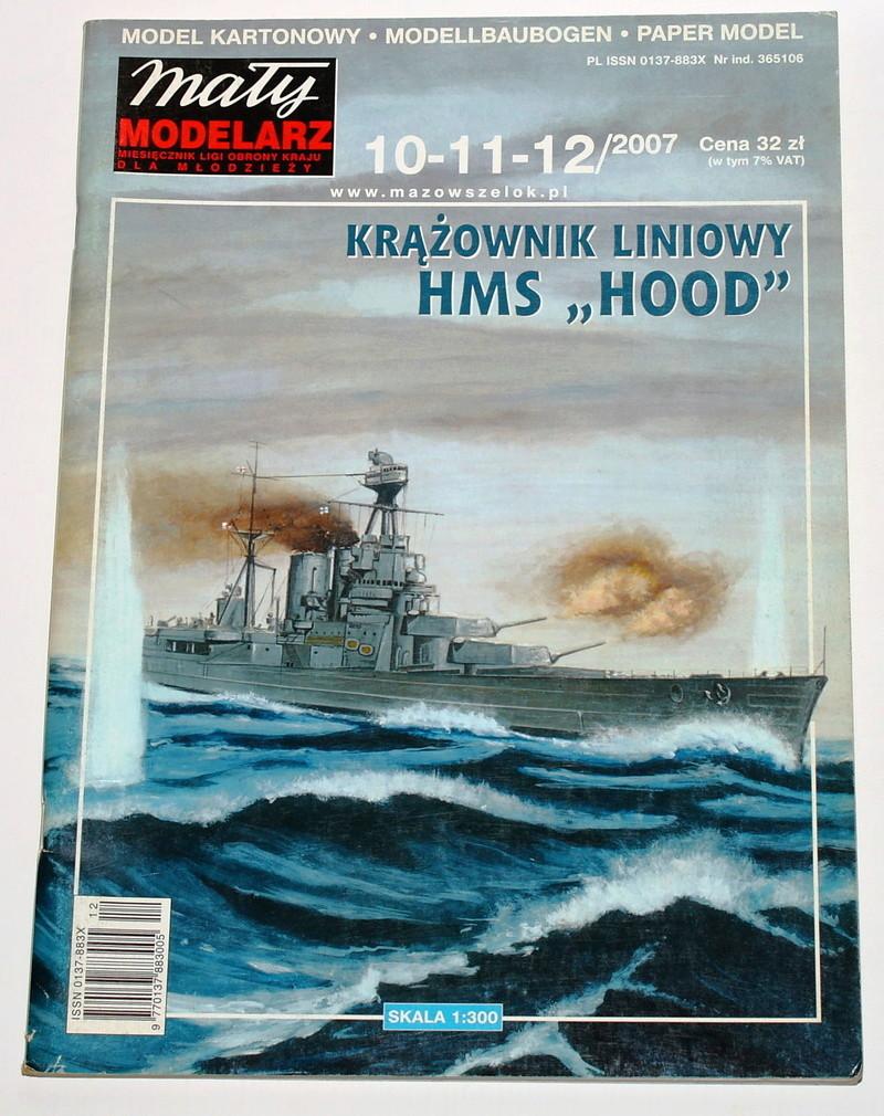 HMS Hood  Heller au 1/400 S-l16010