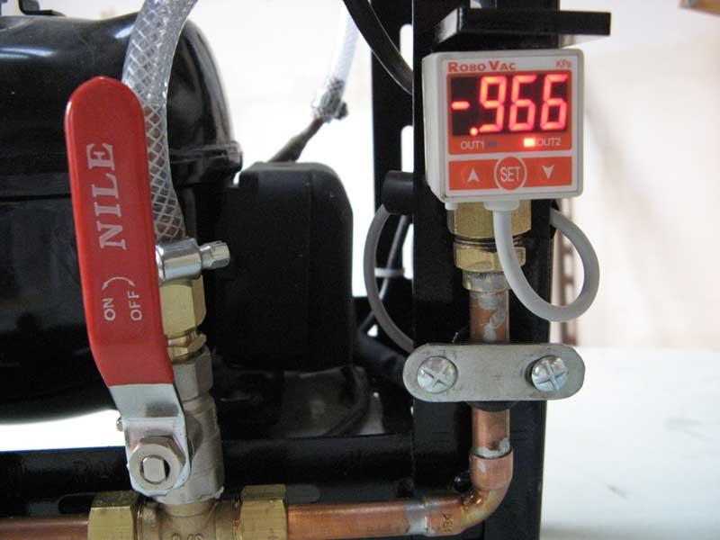 VENDUE Pompe à vide DIY avec vacuostat électronique Vacuos10