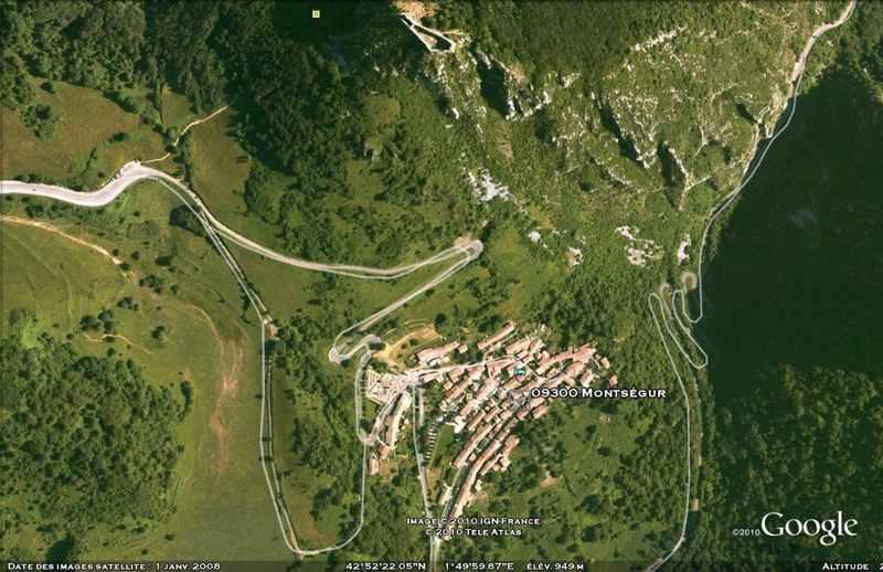 Citadelle Cathare Peyrepertuse - vision panoramique [du côté de chez nous] Montse10