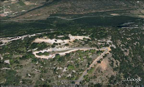 Citadelle Cathare Peyrepertuse - vision panoramique [du côté de chez nous] Peyre10