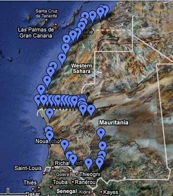 parcours en Mauritanie Rim10